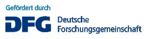 Logo der deutschen Forschungsgemeinsachaft DFG